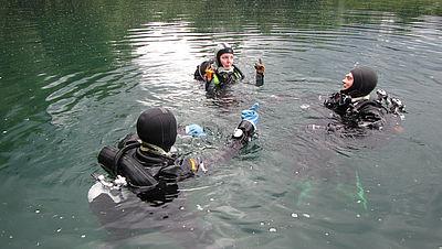 Sommertauchevent Widdauer See